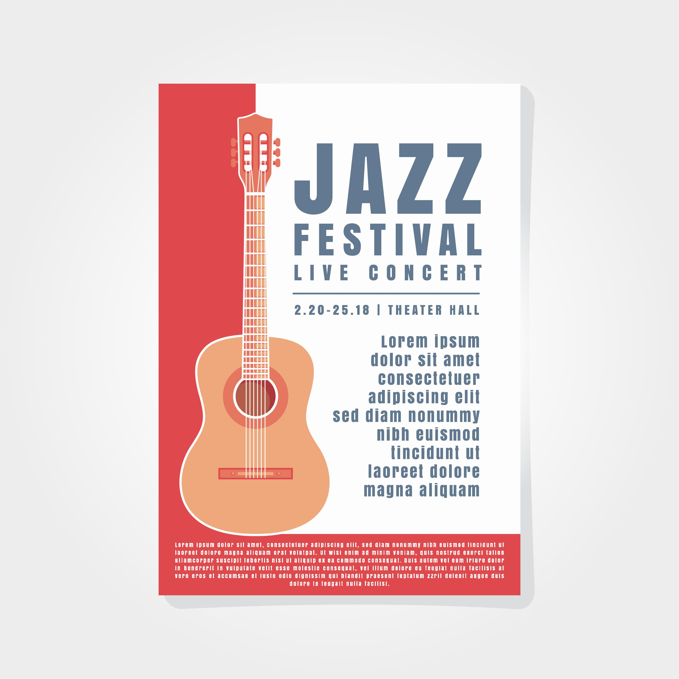 Music Poster Background Template Download Free Vector