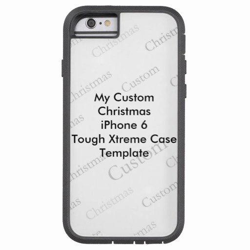My Custom Christmas iPhone 6 tough Case Template