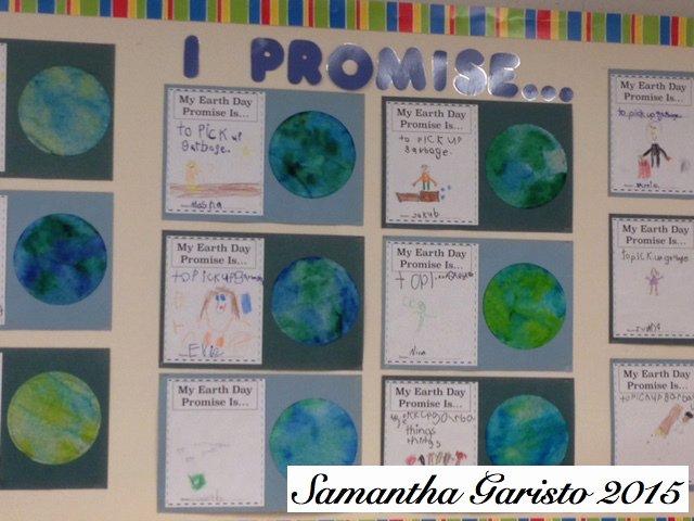"""""""my Earth Day Promise"""" Kindergarten – Learn Laugh Grow Teach"""