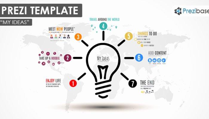 My Ideas – Prezi Presentation Template