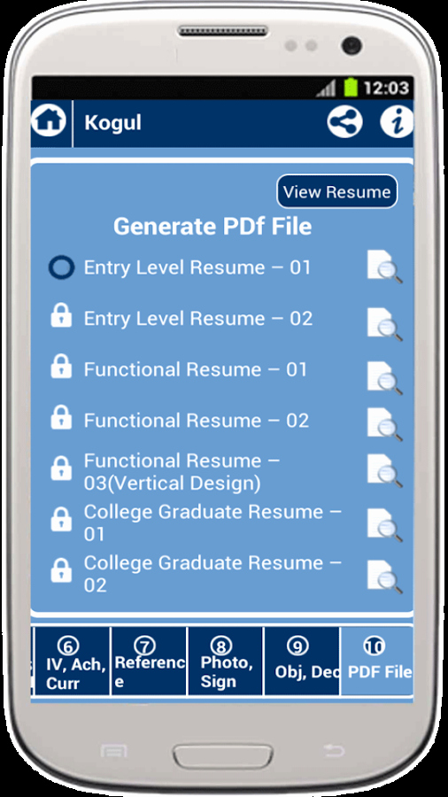 My Resume Builder Cv Free Jobs android Apps On Google Play