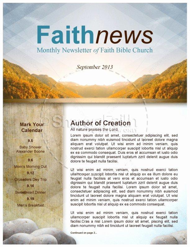 My soul Rejoice Church Newsletter
