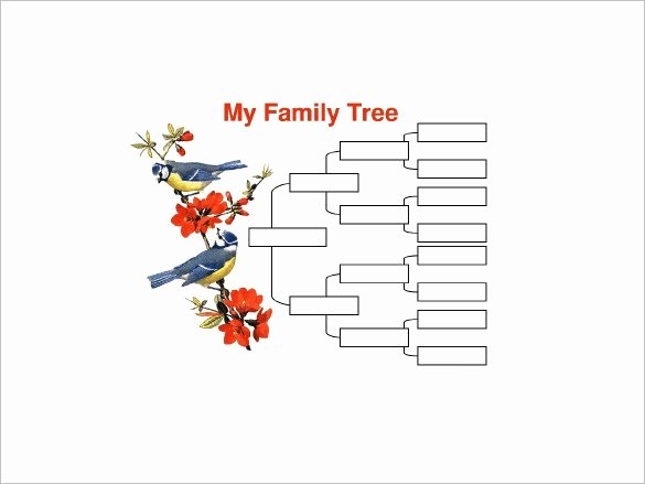 Name Family Tree Template Gallery