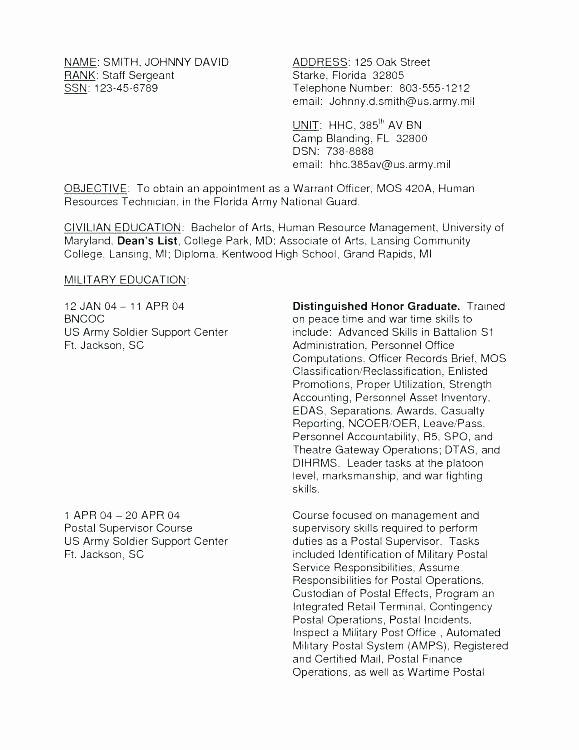 Navy Resume Examples – Trezvost