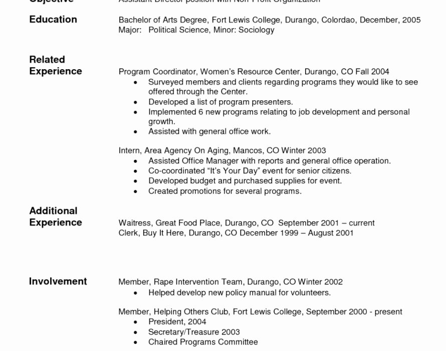 Need Help to Write My Resume
