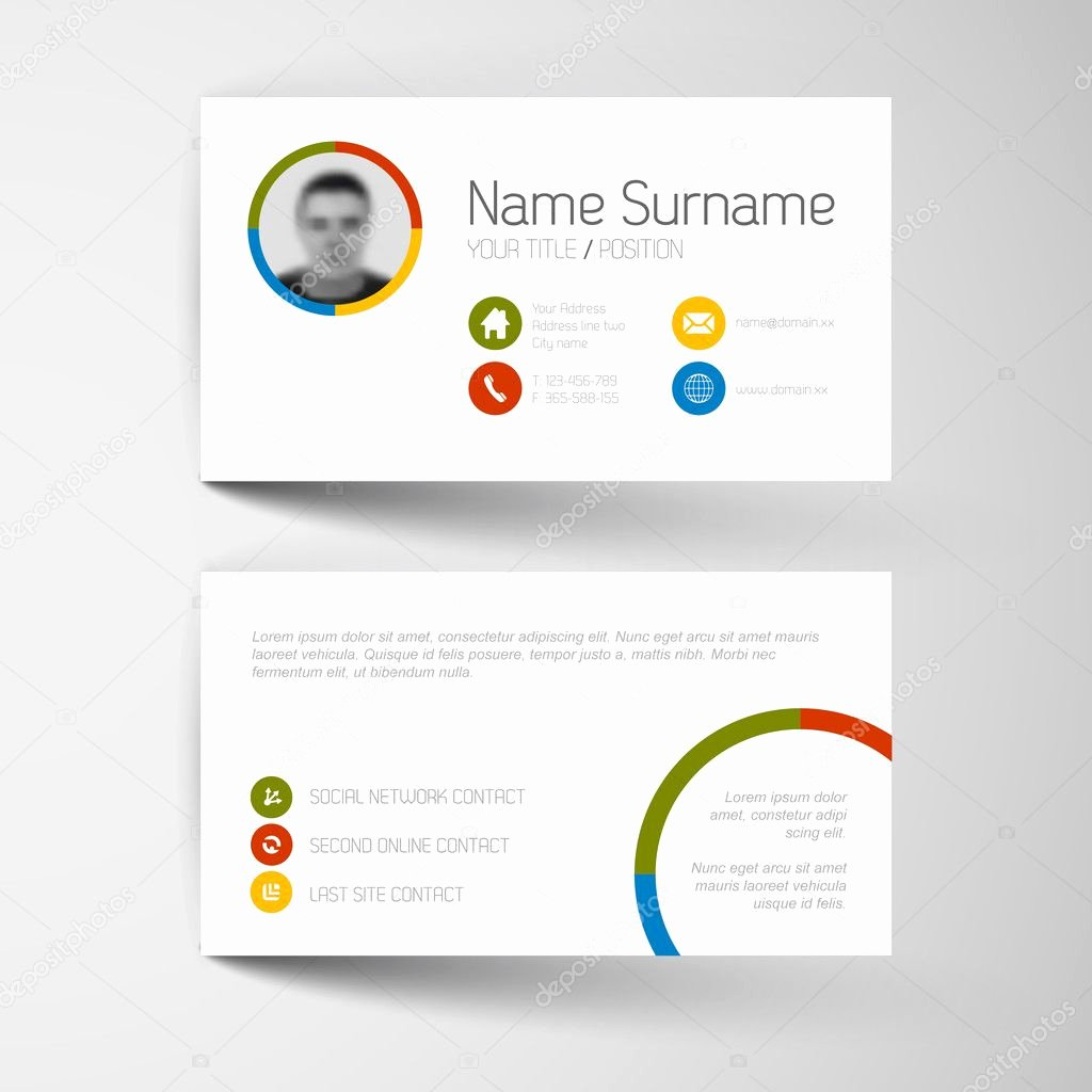 Networking Business Card Template Business Card Design