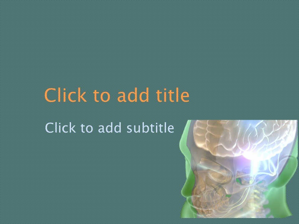 Neurology Powerpoint Background Free Download Free
