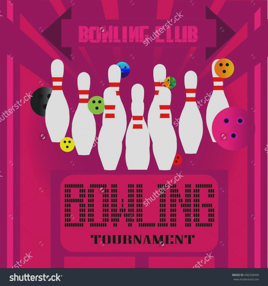 New Bowling Flyers Templates Free A Blank Flyer Template