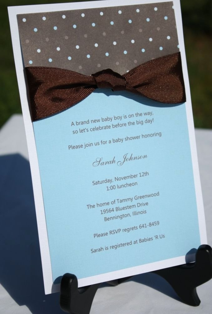 New Diy Baby Shower Invitations Easy Baby Shower