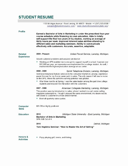 New Grad Nursing Resume Skills Nursing Student Resume
