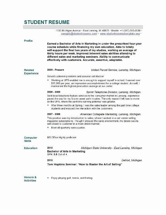 New Grad Nursing Resume Skills Nursing Student Resume