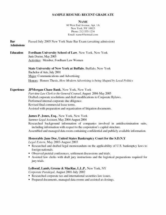 new grad rn resume sample