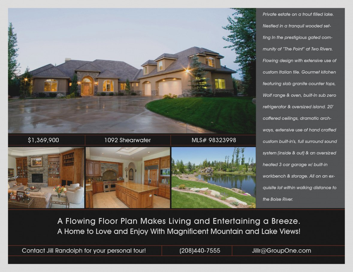 New Real Estate Flyer Template Free Download Templates
