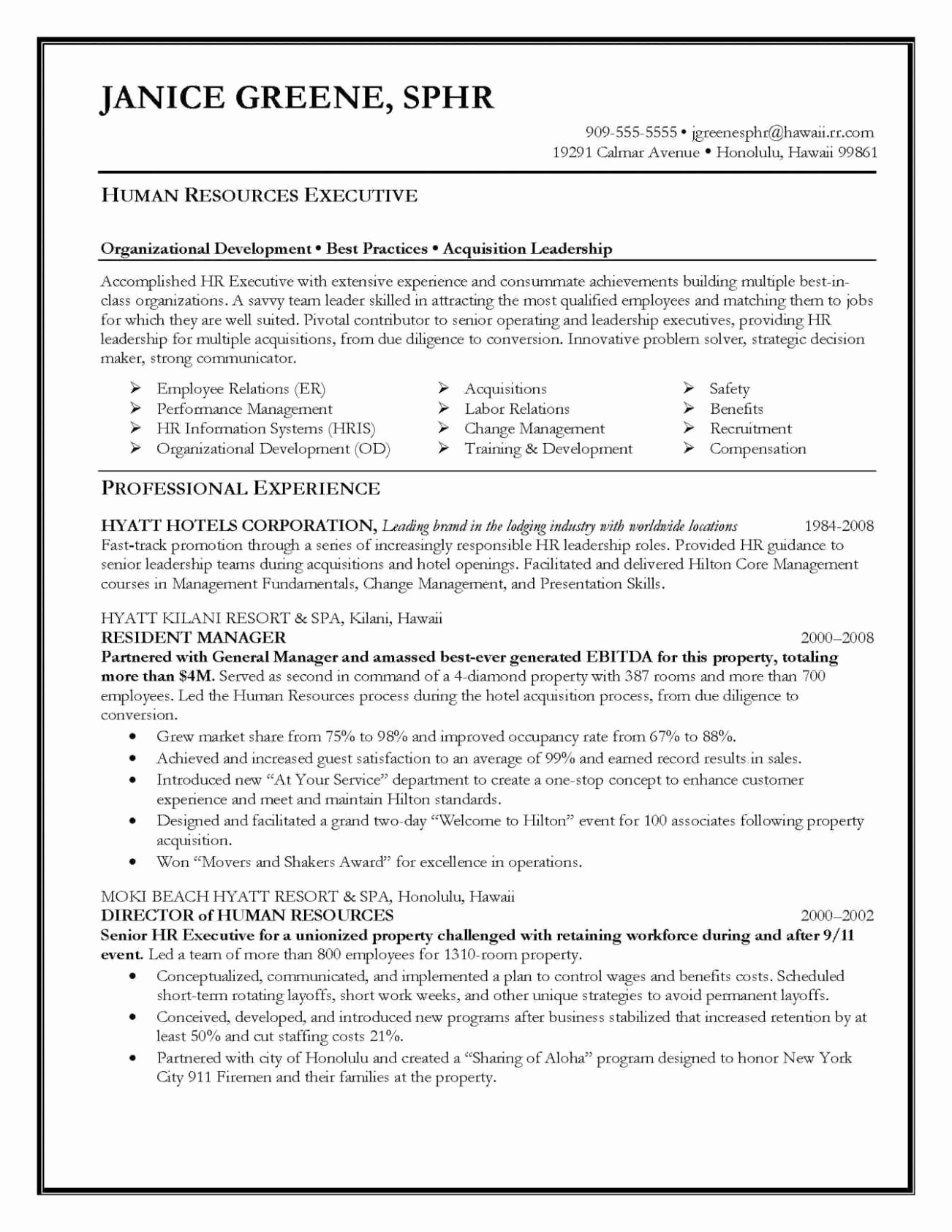 8 9 Career Summary Example Latter Example Template