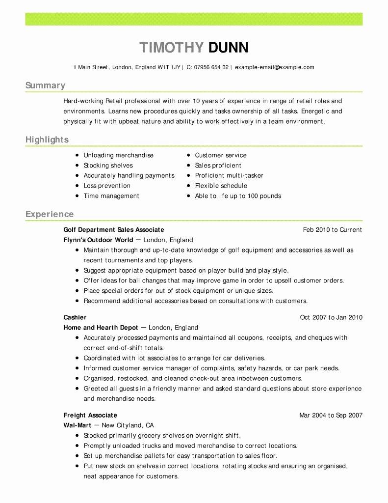 New Sample Resume Summary for Career Change