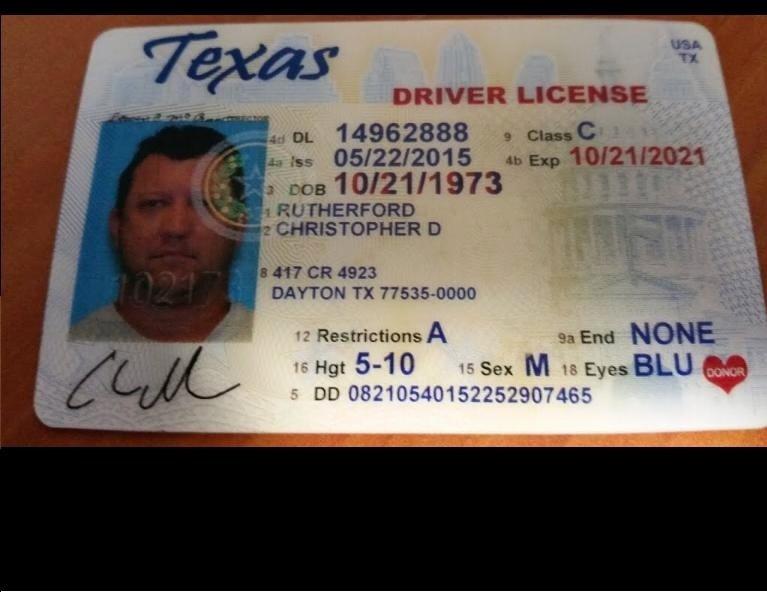 New Texas Drivers License Template Beepmunk