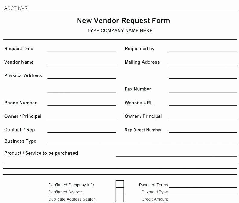 new vendor form template excel ten gigantic influences of new vendor form template excel