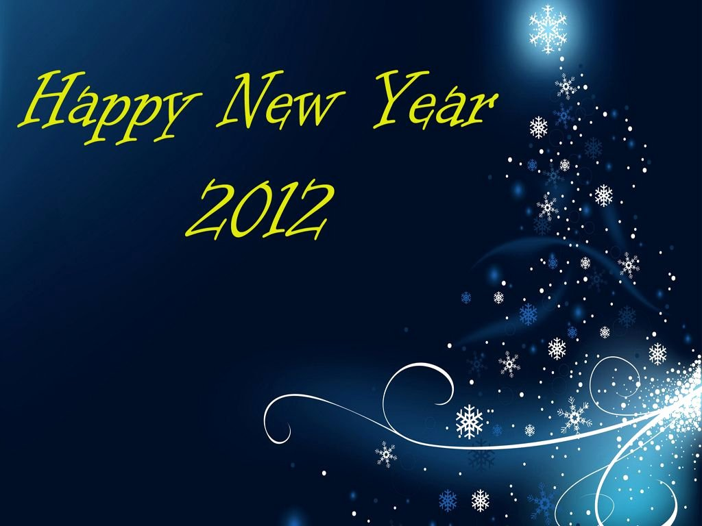 New Year 2012 Backgrounds for Powerpoint Holiday Ppt
