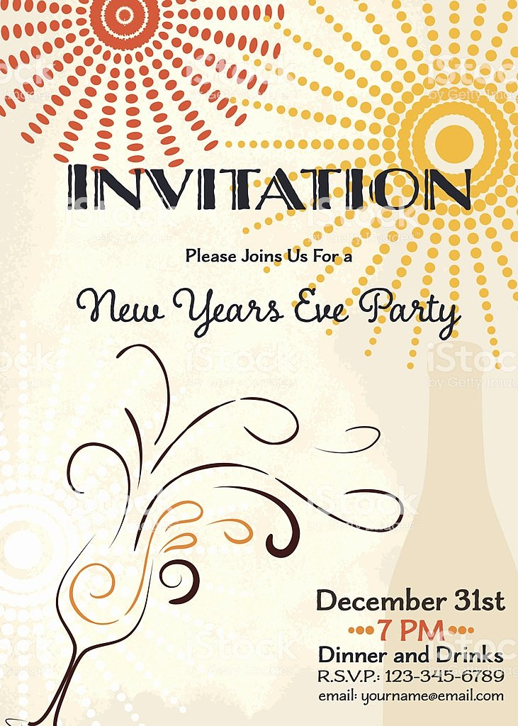New Years Eve Party Invitation Template – orderecigsjuicefo