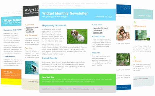 Newsletter Templates for Outlook 30 Free Great Looking