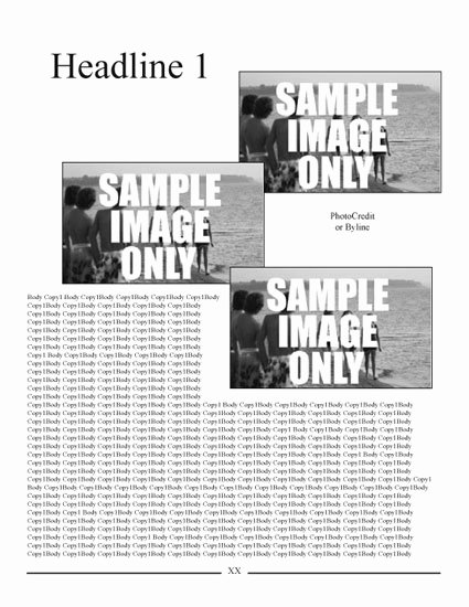 Newsletter Templates Free Indesign Downloadable Templates