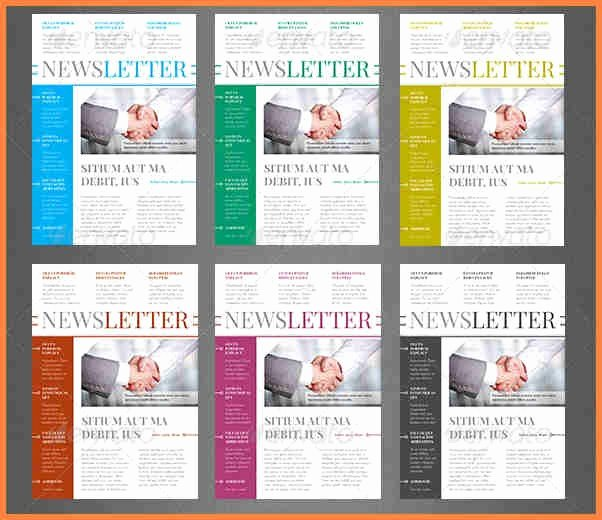 Newsletter Templates Indesign Free Studiojpilates