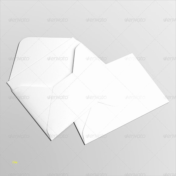 Nice 5x7 Envelope Template Template Pochette