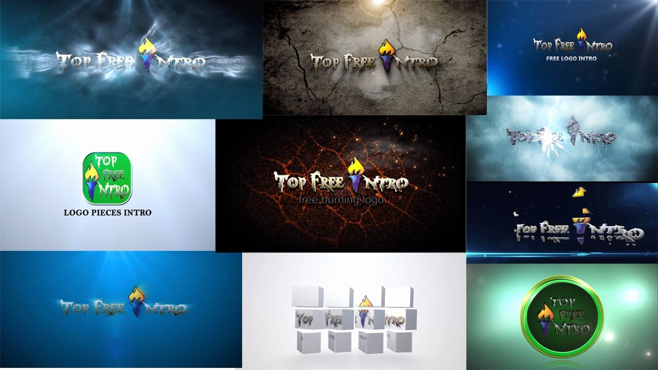 Nice after Effects Free Intro Templates Adobe