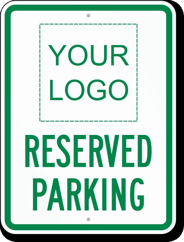 No Parking Signs Custom & Stock Templates