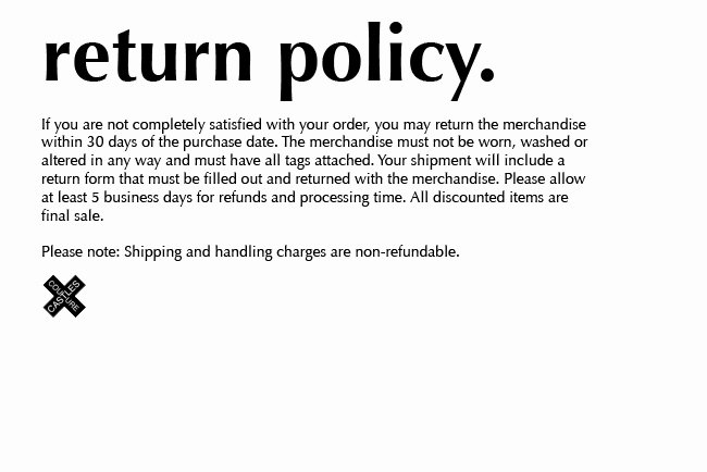 No Refund Policy Template 28 Images Multichannel