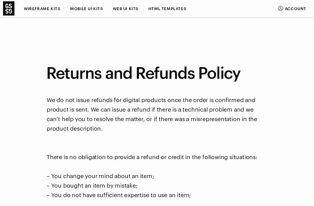 No Refunds Policy Template 8 Features No Refunds Policy