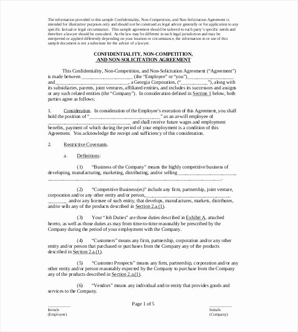 Non Pete Agreement Massachusetts Gallery Agreement