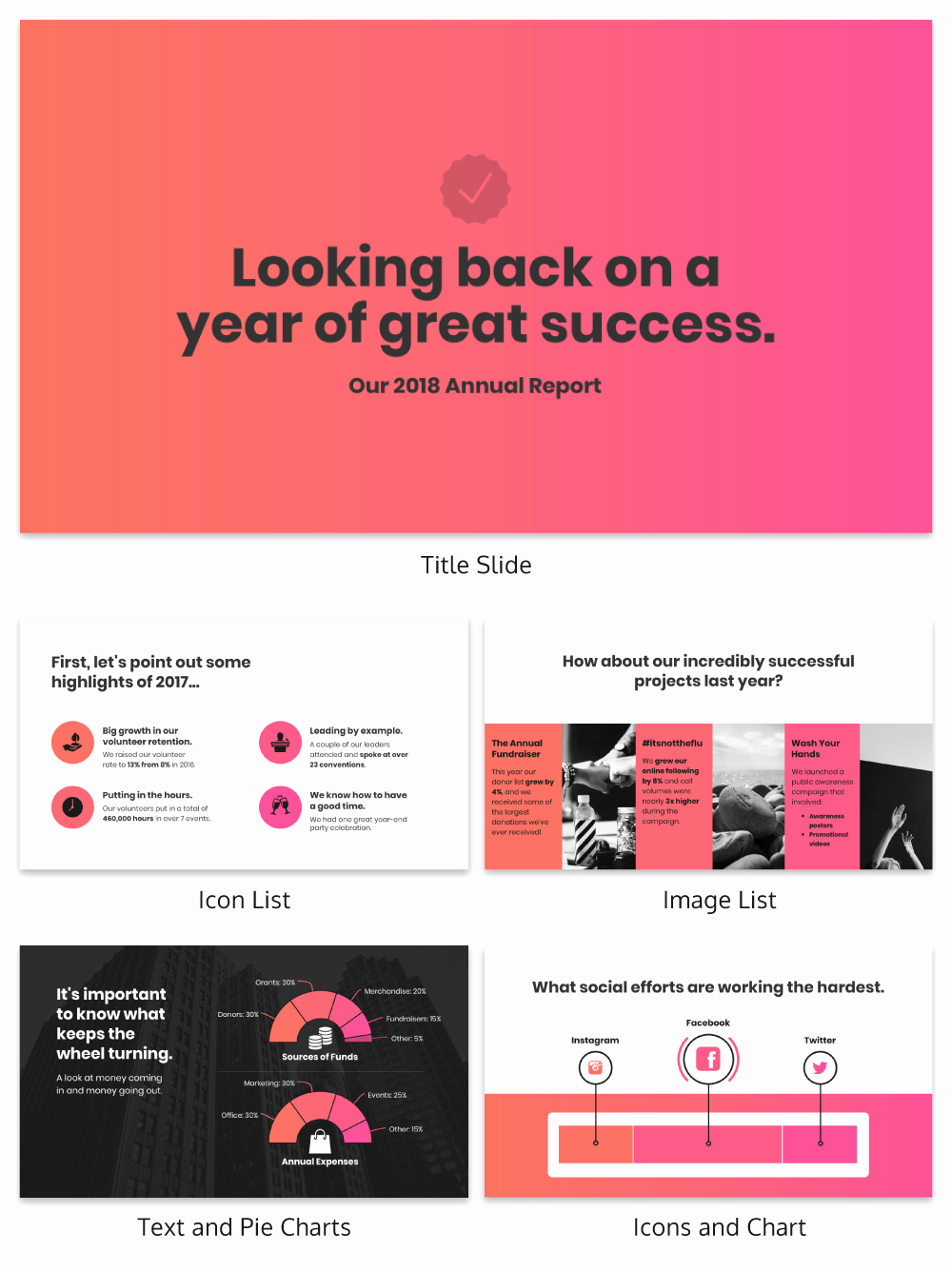 Nonprofit Annual Report Template Venngage