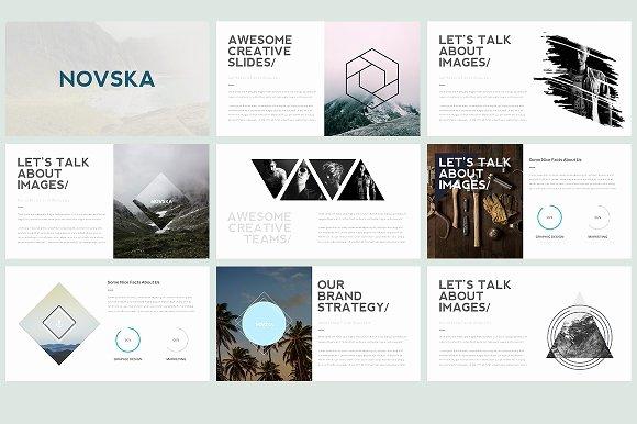 Novska Modern Powerpoint Template Presentation