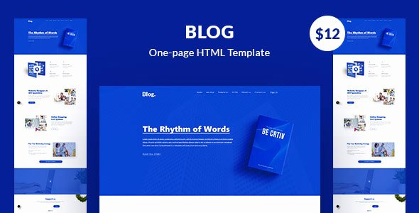 [nulled Template] Blog HTML5 E Page Template Nulled