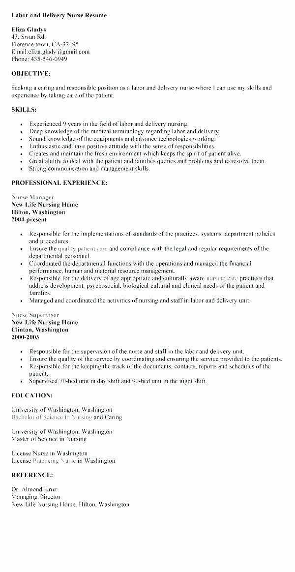 Nurse Manager Job Descriptions Description Resume