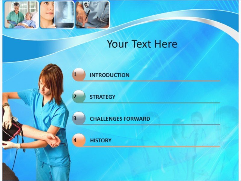 Nurse Powerpoint Template – Playitaway