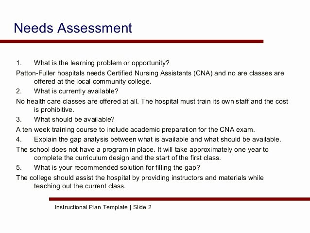 Nursing Needs assessment tools to Pin On