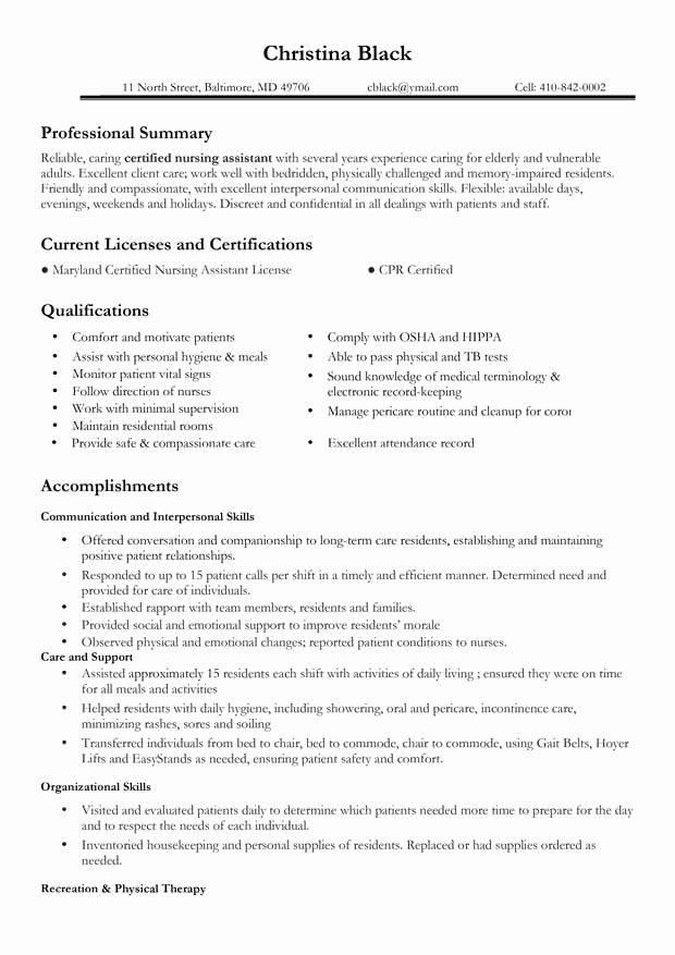 Nursing Resume Resume Cv