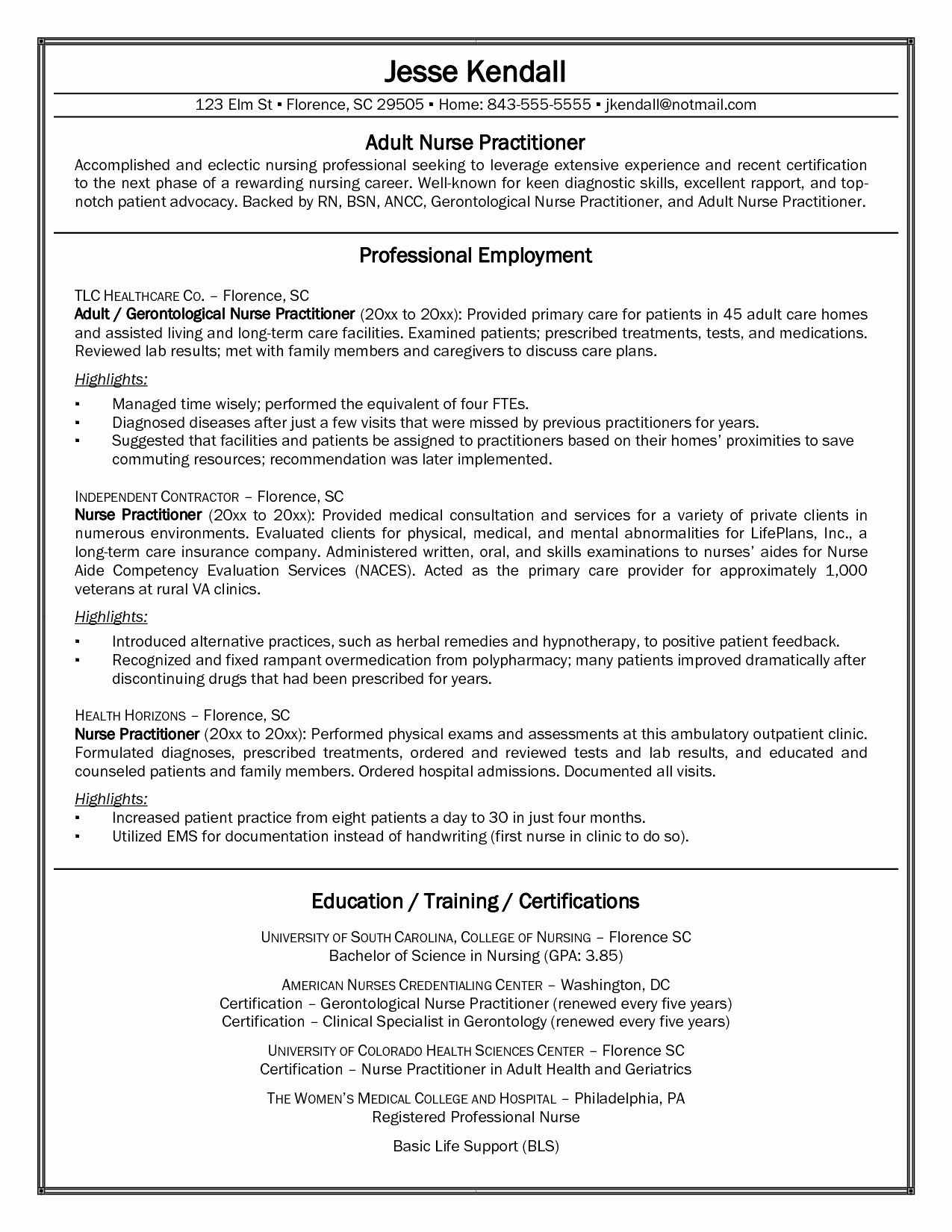 Nursing Student Resume Clinical Experience Best Resume