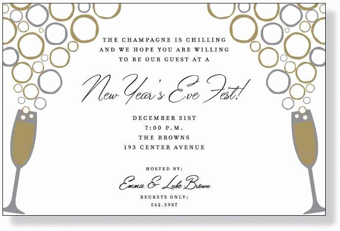 Nye Party Invitation