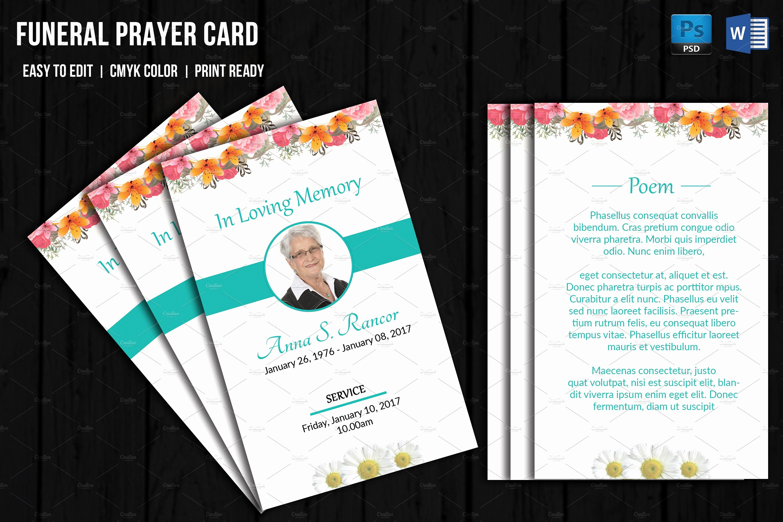 Obituary Cards Templates Portablegasgrillweber