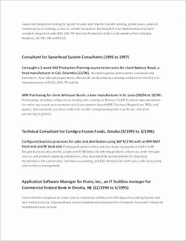 Objective for Banking Resume Elegant Objective Resume