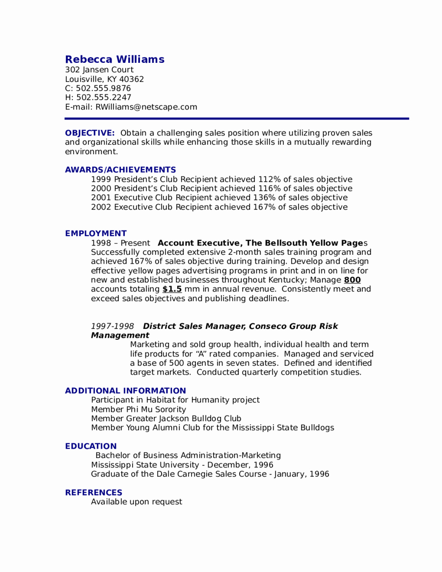 Objective for Resume Example Edit Fill Sign Line