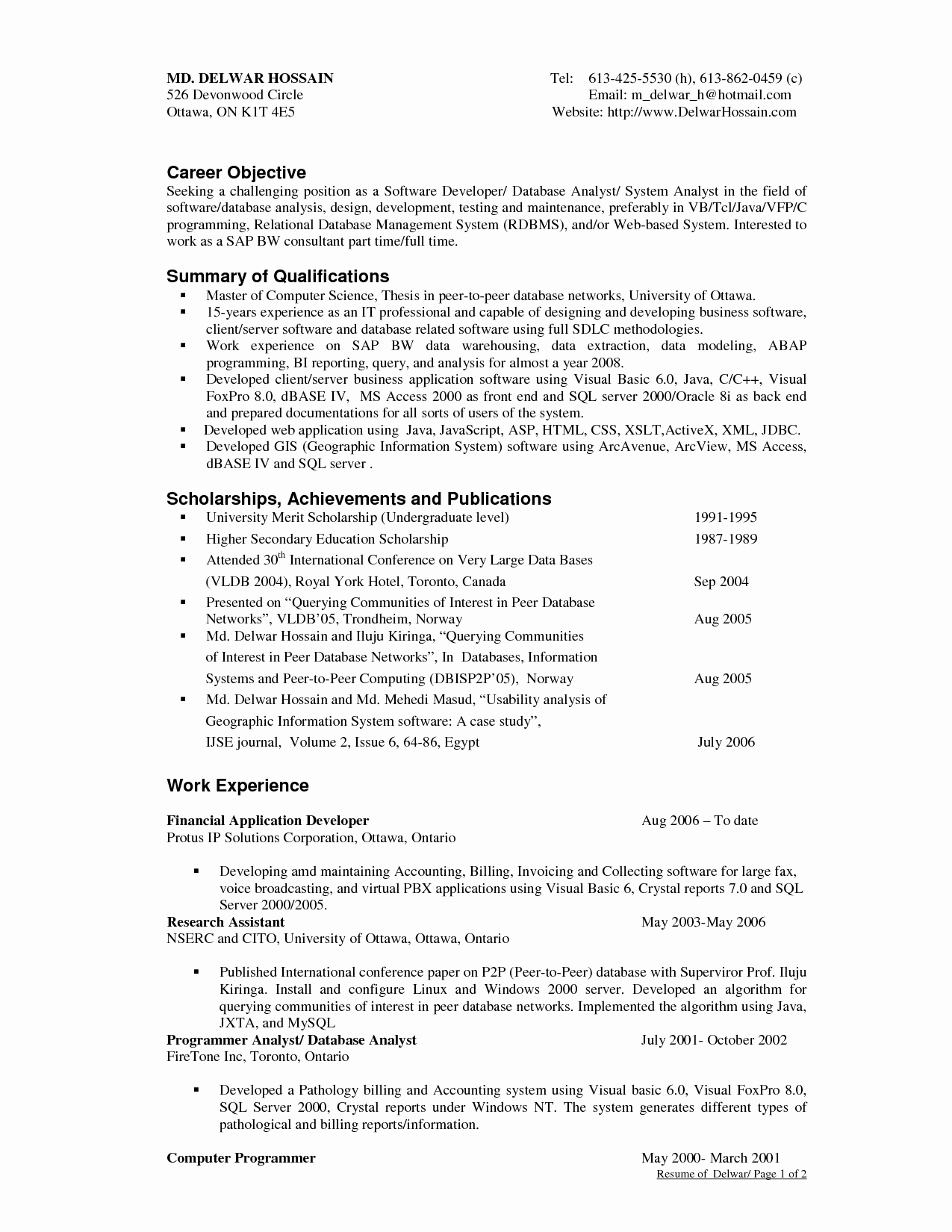 Objective Resume Samples Skills In A Resume Career