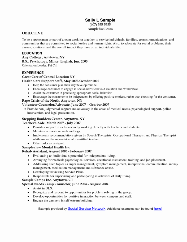 Objective to Work In Hospital Resume – Perfect Resume format