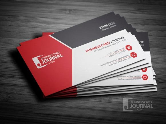 Online Business Card Template Word Free Designs 4