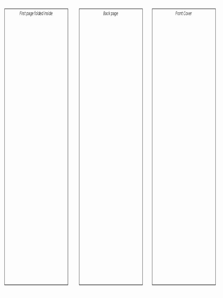 Open Fice Brochure Template Tri Fold Free Download D