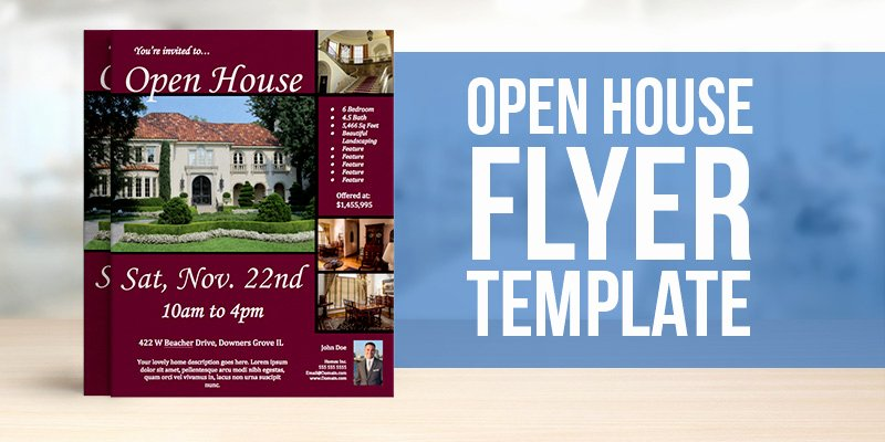 Open House Flyer Template Free Yourweek 27ada8eca25e