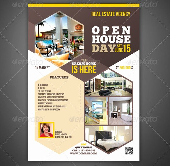 Open House Flyer Templates – 39 Free Psd format Download